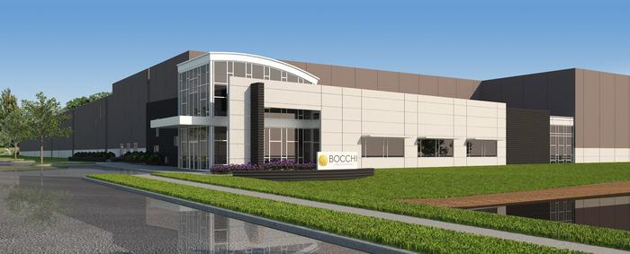 Bocchi Laboratories Manufacturing Facility by The Pizzuti Companies