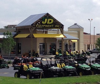 JD Equipment in Hilliard by 4 Points Development